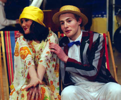 Performance of The Boyfriend in the school theatre