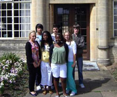 Gifted and talented pupils on a trip to Oxford University